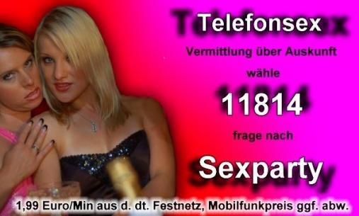 Telefonsex, Sex Party
